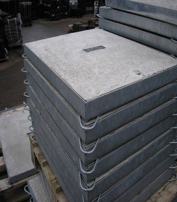 Concrete cover