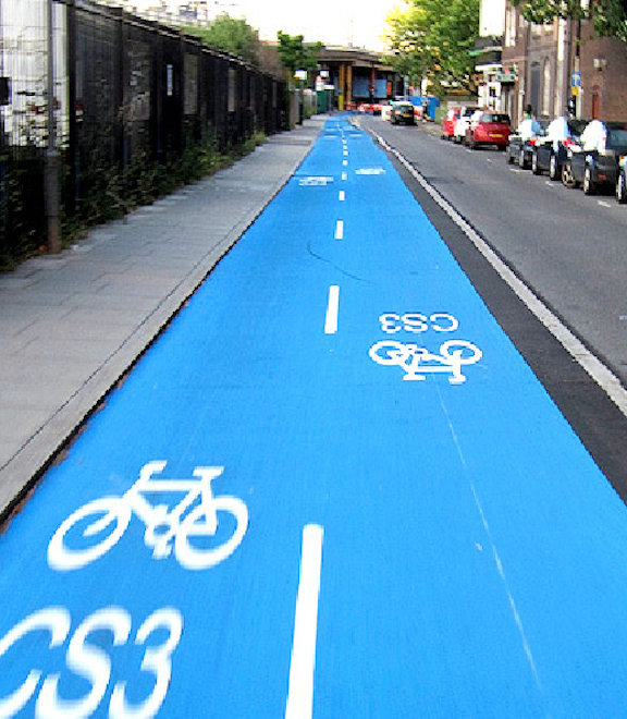 Cycle highway