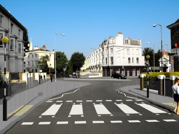 Seven Dials, Brighton